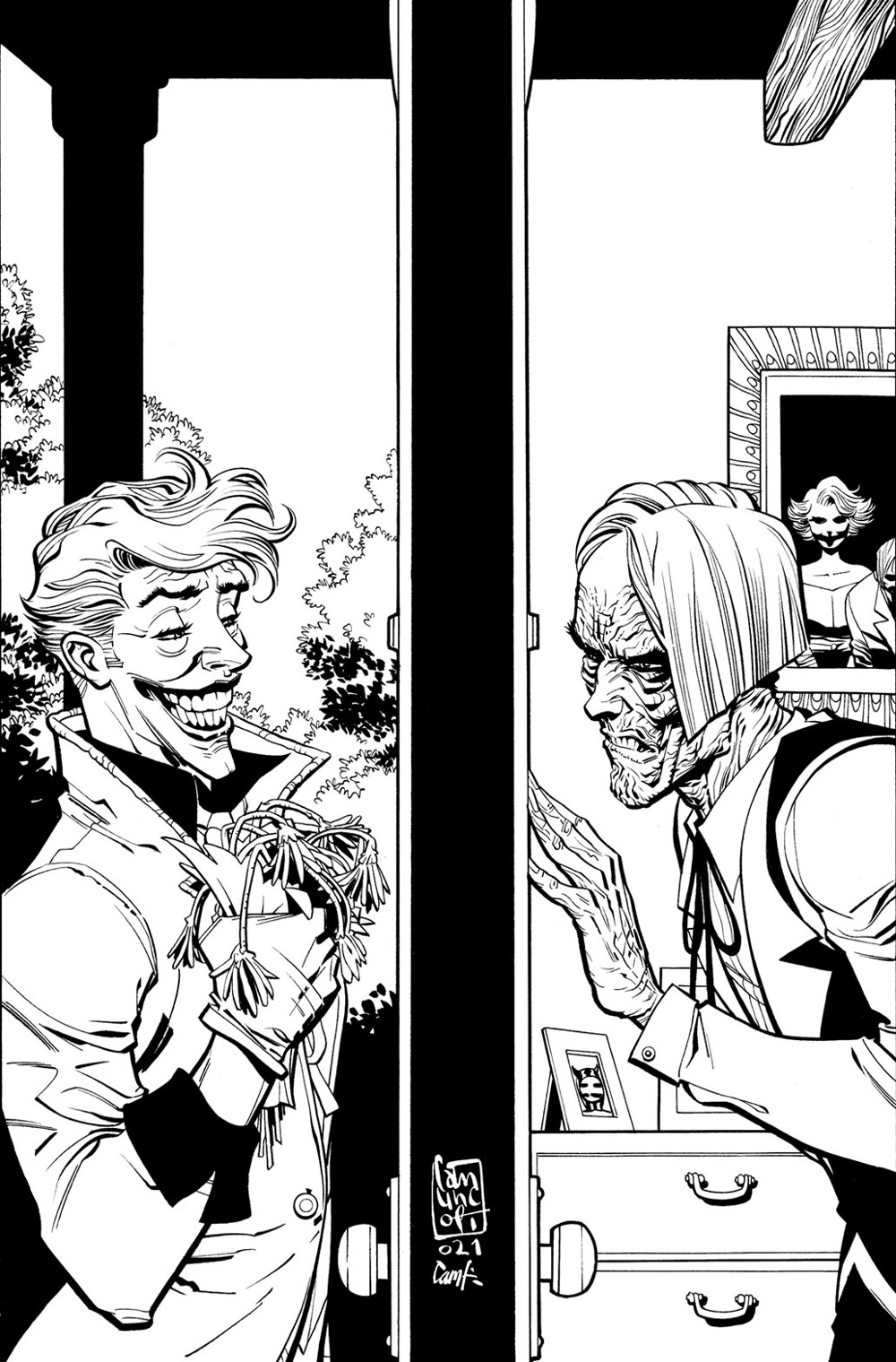 Joker_Cv11_Main_Cover_Inks DC Comics December 2021 Solicitations