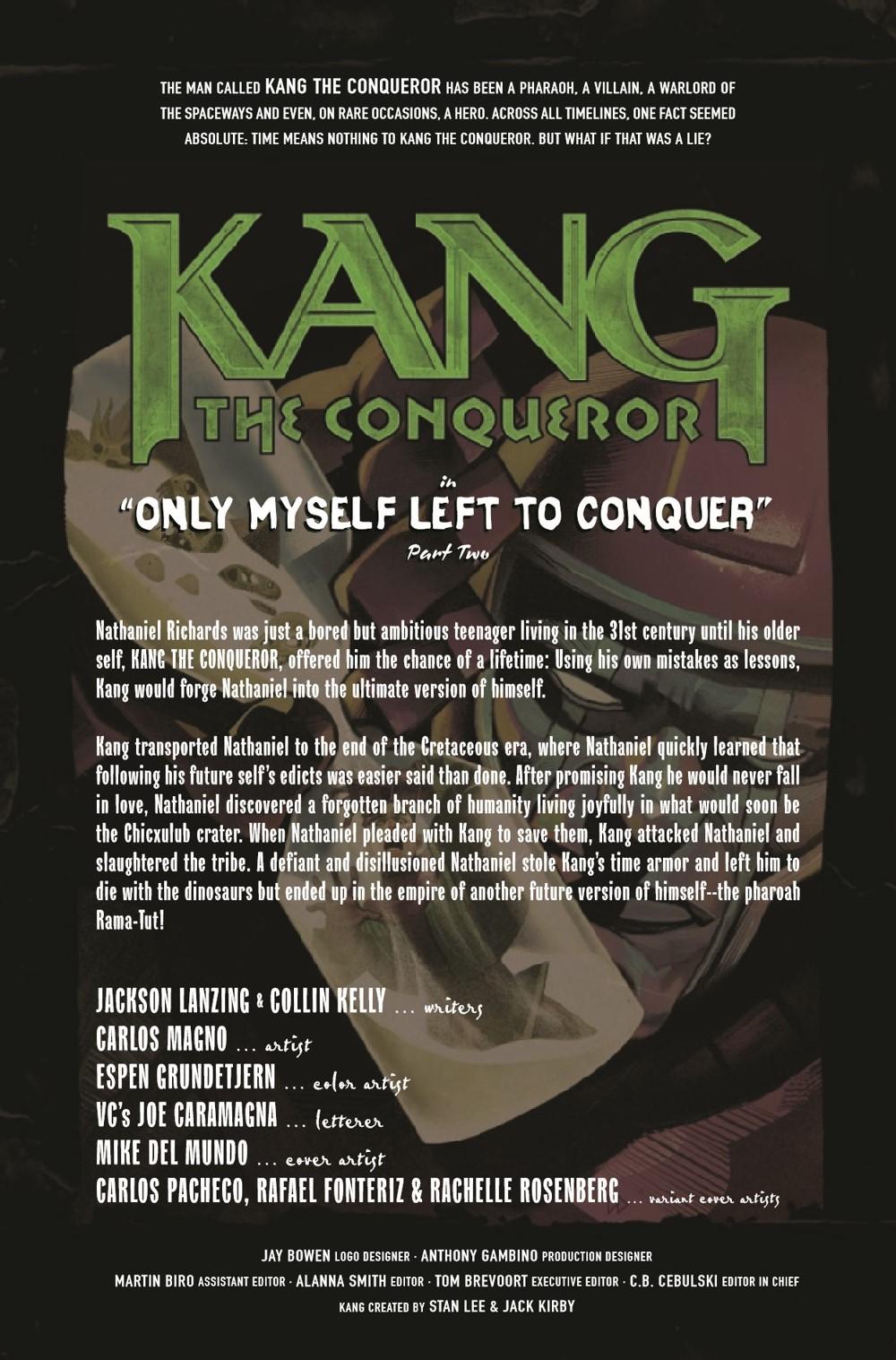 KANGCONQUEROR2021002_Preview-2 ComicList Previews: KANG THE CONQUEROR #2 (OF 5)