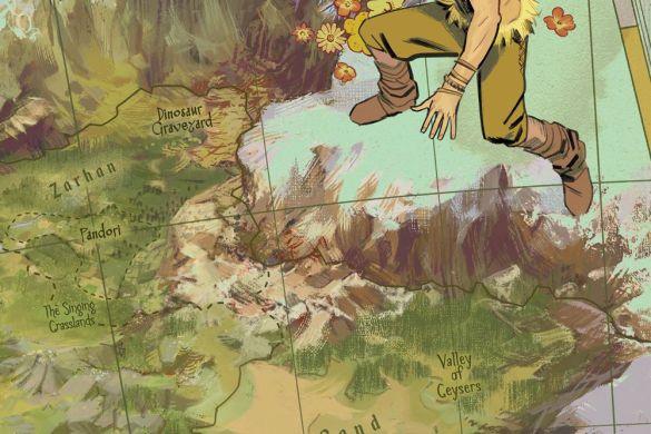 KAZARLOS2021002_Garcia-map-variant KA-ZAR: LORD OF THE SAVAGE LAND #2 covers revealed