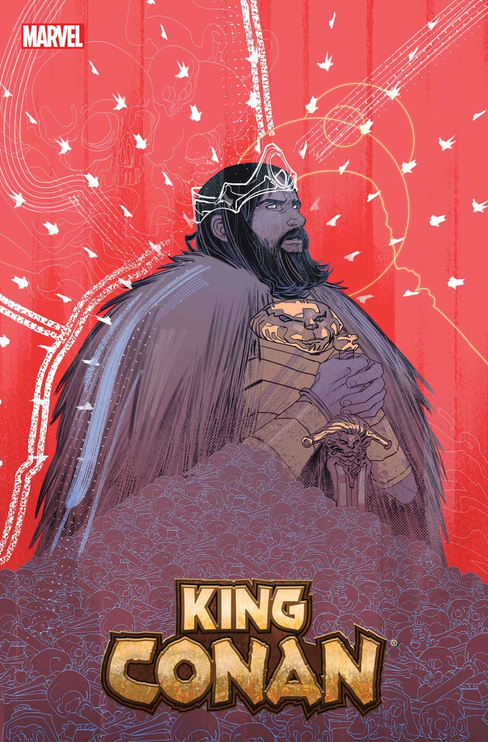 KINGCONAN2021001_Sauvage_Var Marvel Comics December 2021 Solicitations