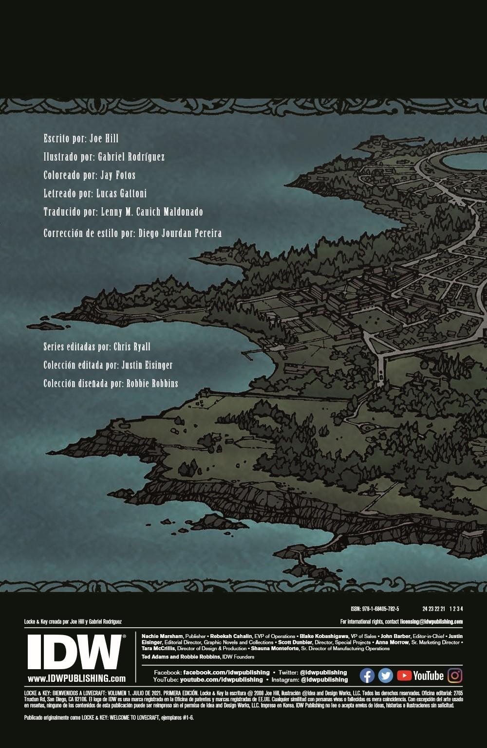 LockeandKey_TPB_pr-2 ComicList Previews: LOCKE AND KEY VOLUME 1 BIENVENIDOS A LOVECRAFT TP