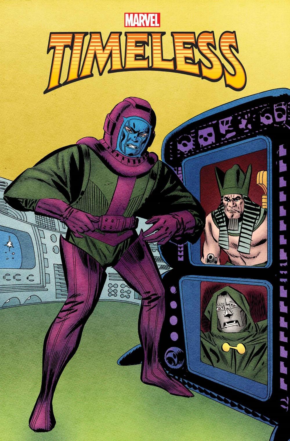 MARTIMELESS2021001_HiddenGem_Var Marvel Comics December 2021 Solicitations