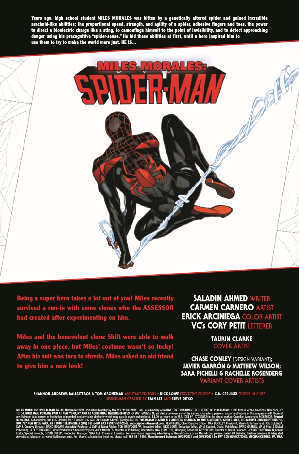 MMSM2018030_Preview-2 ComicList Previews: MILES MORALES SPIDER-MAN #30