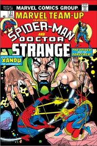 Marvel_Team-Up_Vol_1_21-199x300 A Strange History: Dr. Strange and Spider-Man Comic Team-Ups