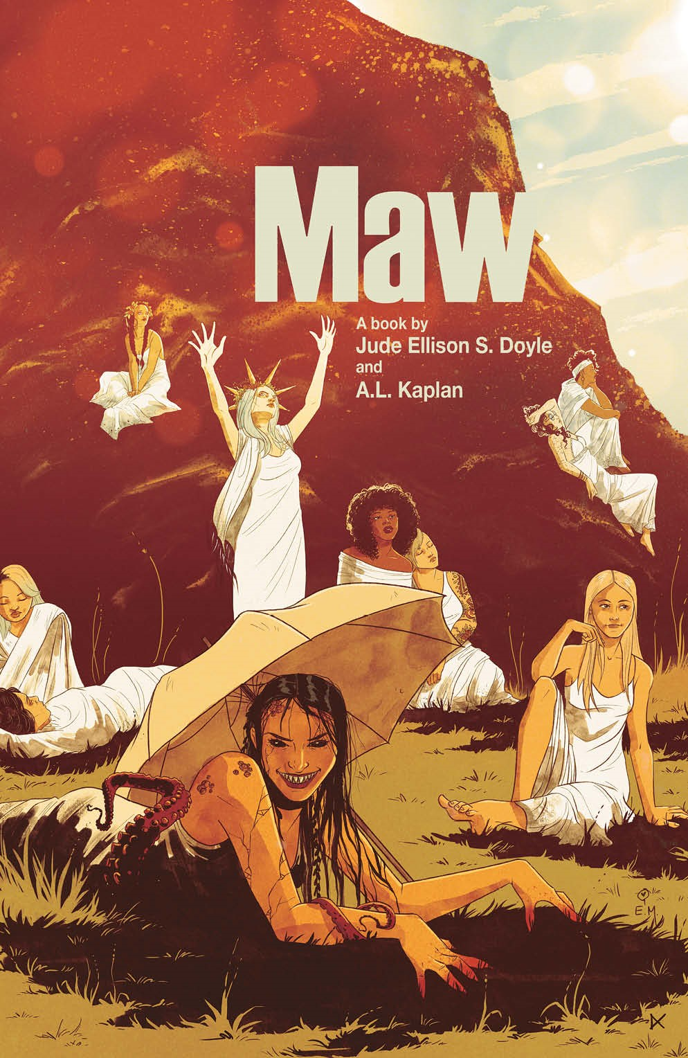 Maw_001_Cover_B_Variant ComicList: BOOM! Studios New Releases for 09/15/2021