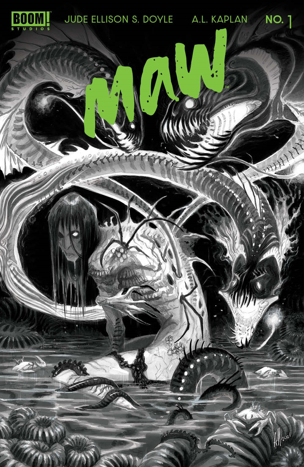 Maw_001_Cover_C_Variant ComicList: BOOM! Studios New Releases for 09/15/2021