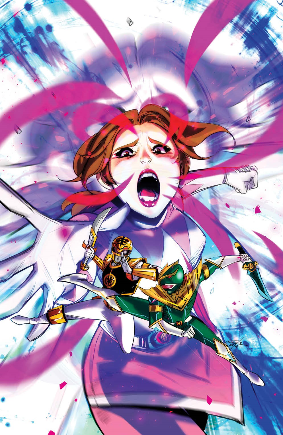 MightyMorphin_011_Cover_D_Variant_Undressed ComicList Previews: MIGHTY MORPHIN #11