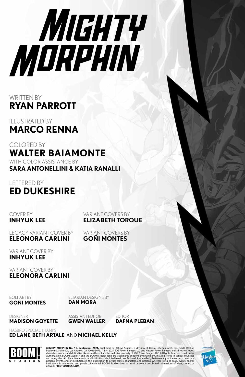 MightyMorphin_011_PRESS_2 ComicList Previews: MIGHTY MORPHIN #11