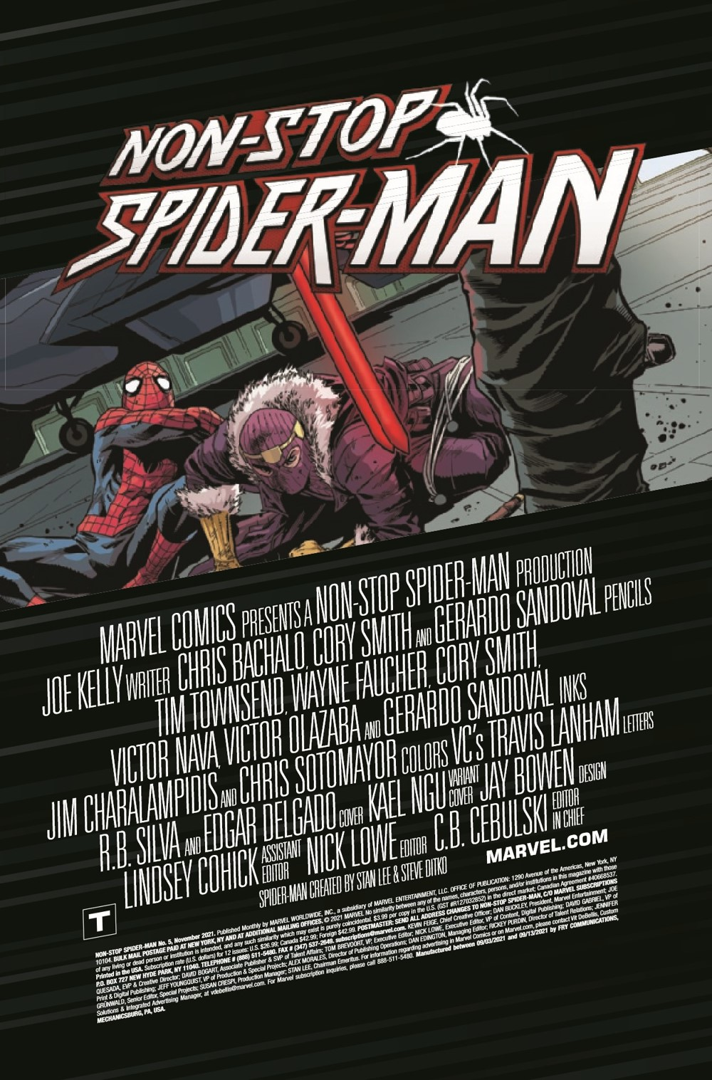 NONSTOPSM2021005_Preview-2 ComicList Previews: NON-STOP SPIDER-MAN #5