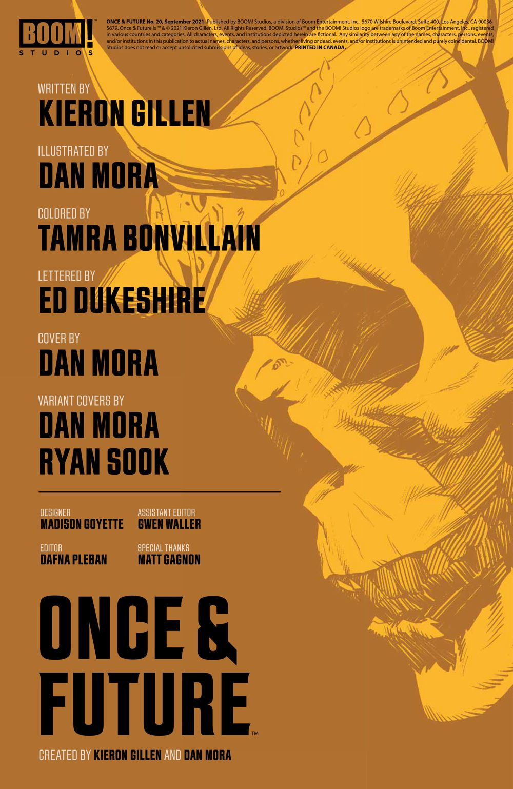 OnceFuture_020_PRESS_2 ComicList Previews: ONCE AND FUTURE #20