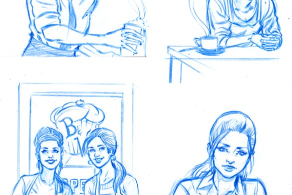 PostCollegeArchieConceptArt-Schonening1 You'll laugh and cry when you read ARCHIE'S HOLIDAY MAGIC SPECIAL #1