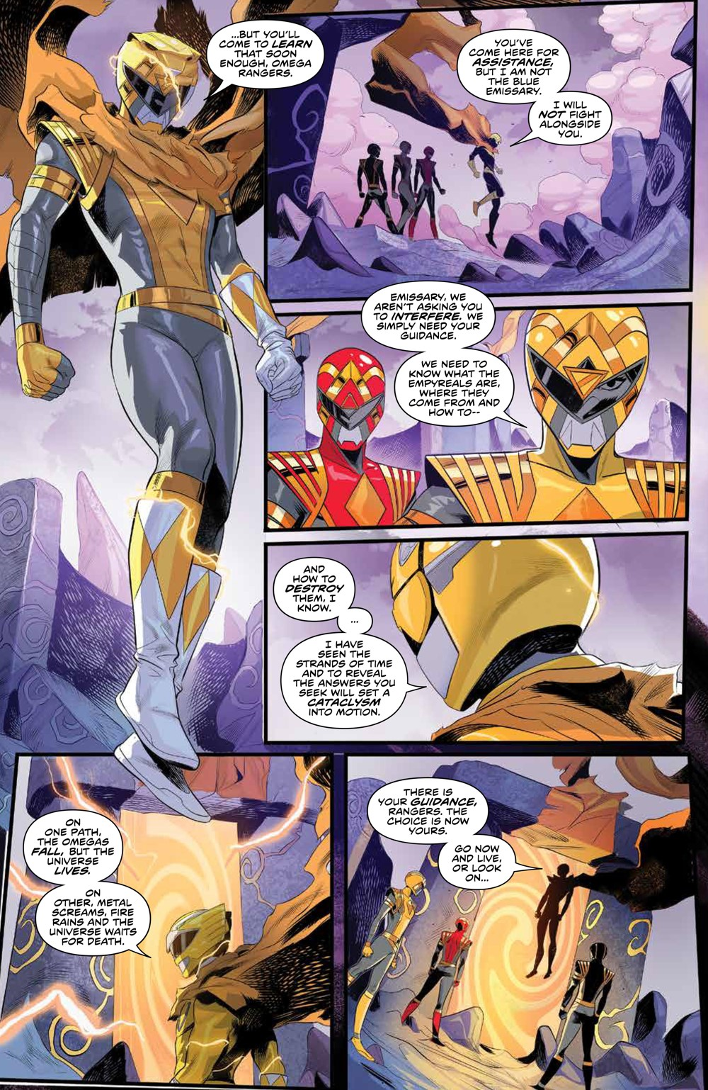 PowerRangers_011_PRESS_8 ComicList Previews: POWER RANGERS #11