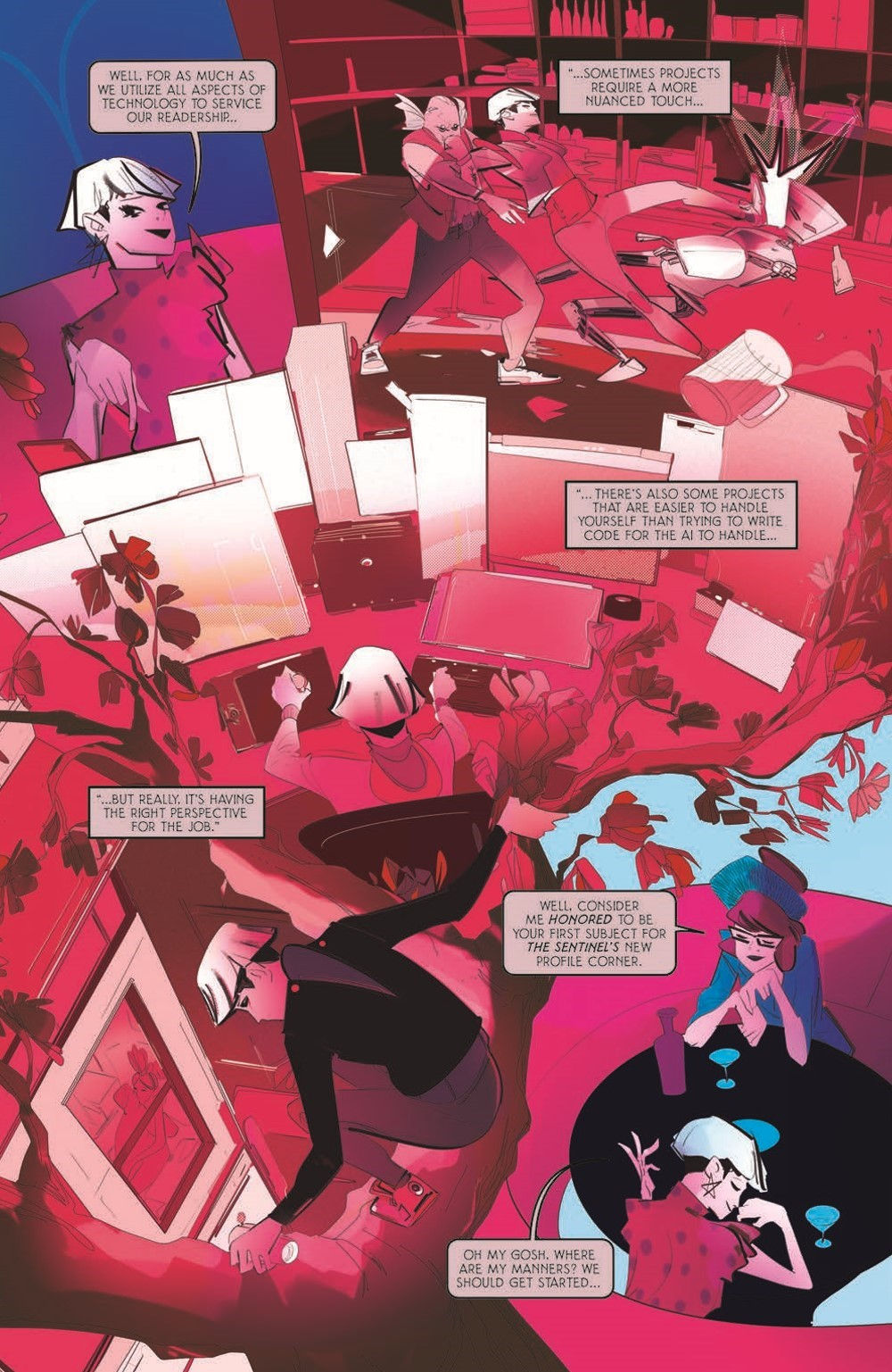 ReadOnlyMemories_TPB_pr-6 ComicList Previews: READ ONLY MEMORIES GN