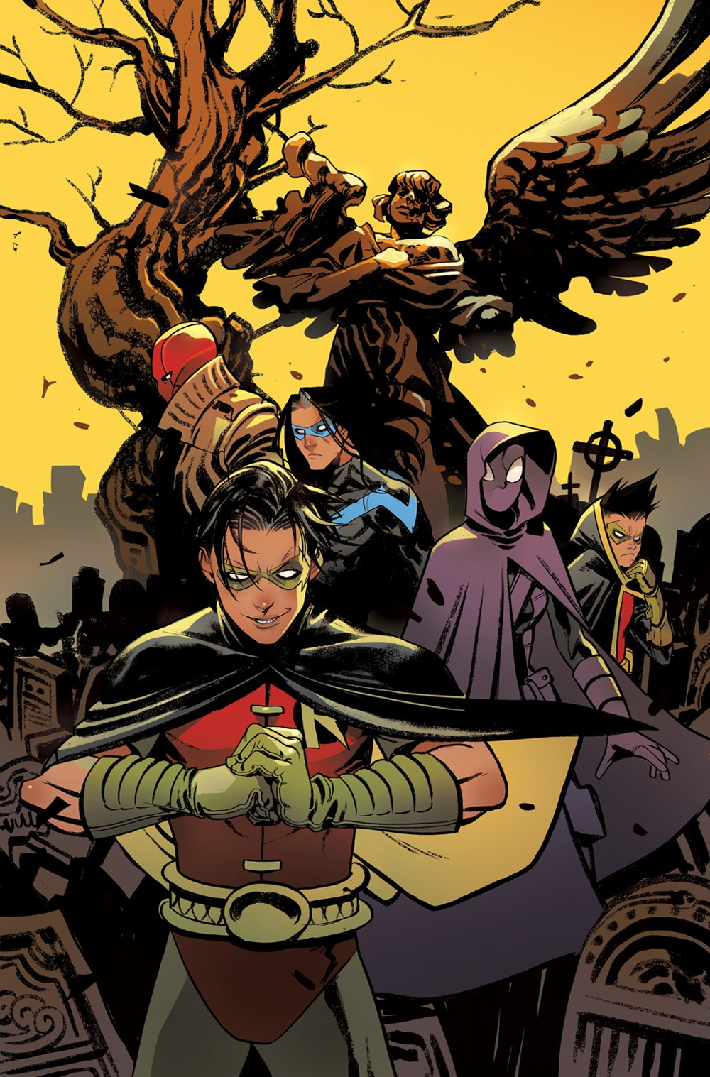 Robins_Cv2 DC Comics December 2021 Solicitations
