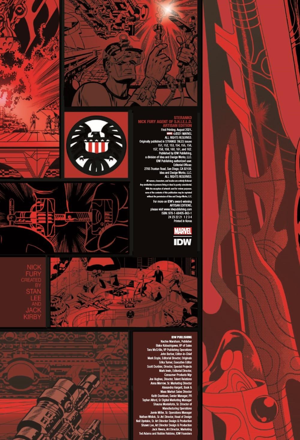 STERANKO_artisan_edition_pr-2 ComicList Previews: JIM STERANKO'S NICK FURY AGENT OF S.H.I.E.L.D. ARTISAN EDITION TP