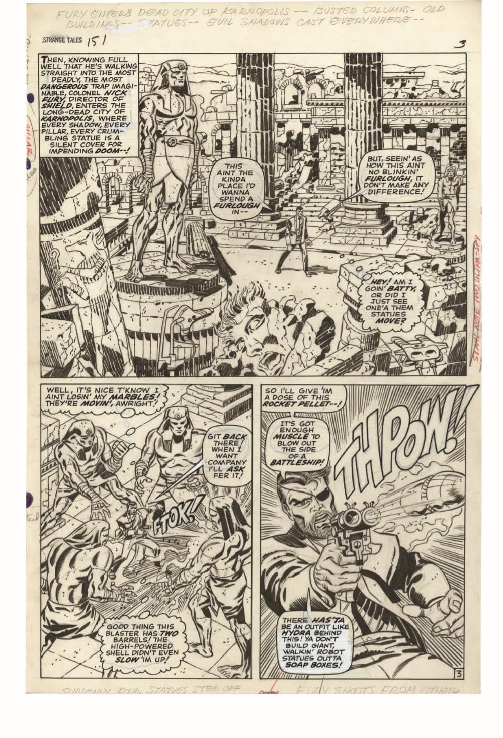 STERANKO_artisan_edition_pr-6 ComicList Previews: JIM STERANKO'S NICK FURY AGENT OF S.H.I.E.L.D. ARTISAN EDITION TP