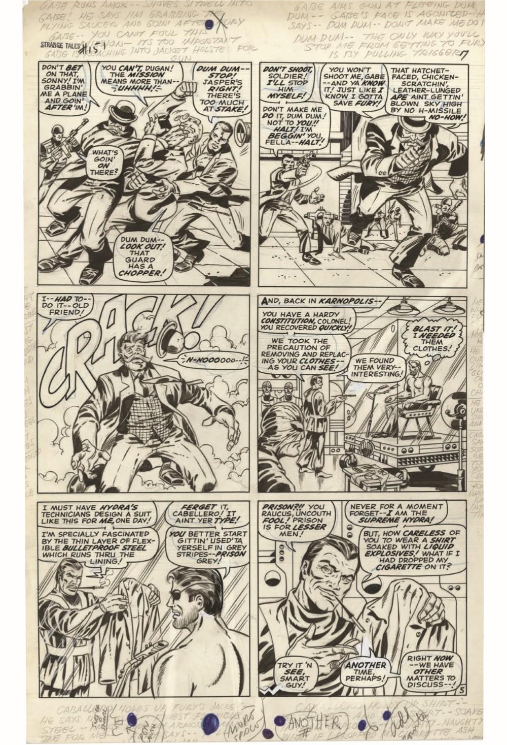 STERANKO_artisan_edition_pr-8 ComicList Previews: JIM STERANKO'S NICK FURY AGENT OF S.H.I.E.L.D. ARTISAN EDITION TP