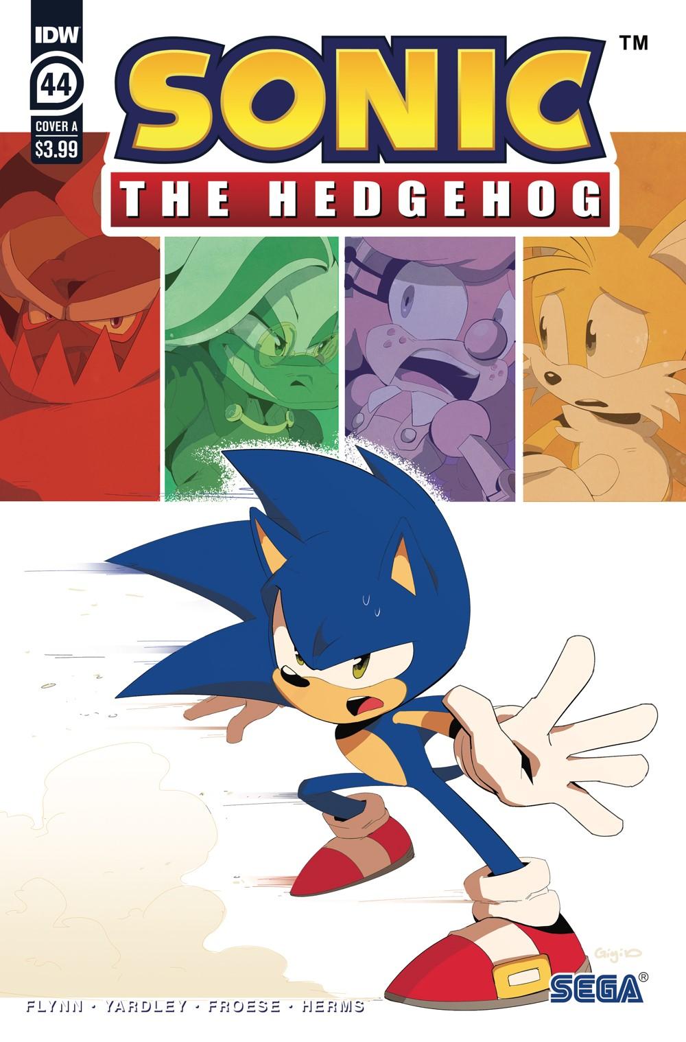 STH44_cvrA ComicList Previews: SONIC THE HEDGEHOG #44
