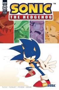 STH44_cvrA-198x300 ComicList Previews: SONIC THE HEDGEHOG #44