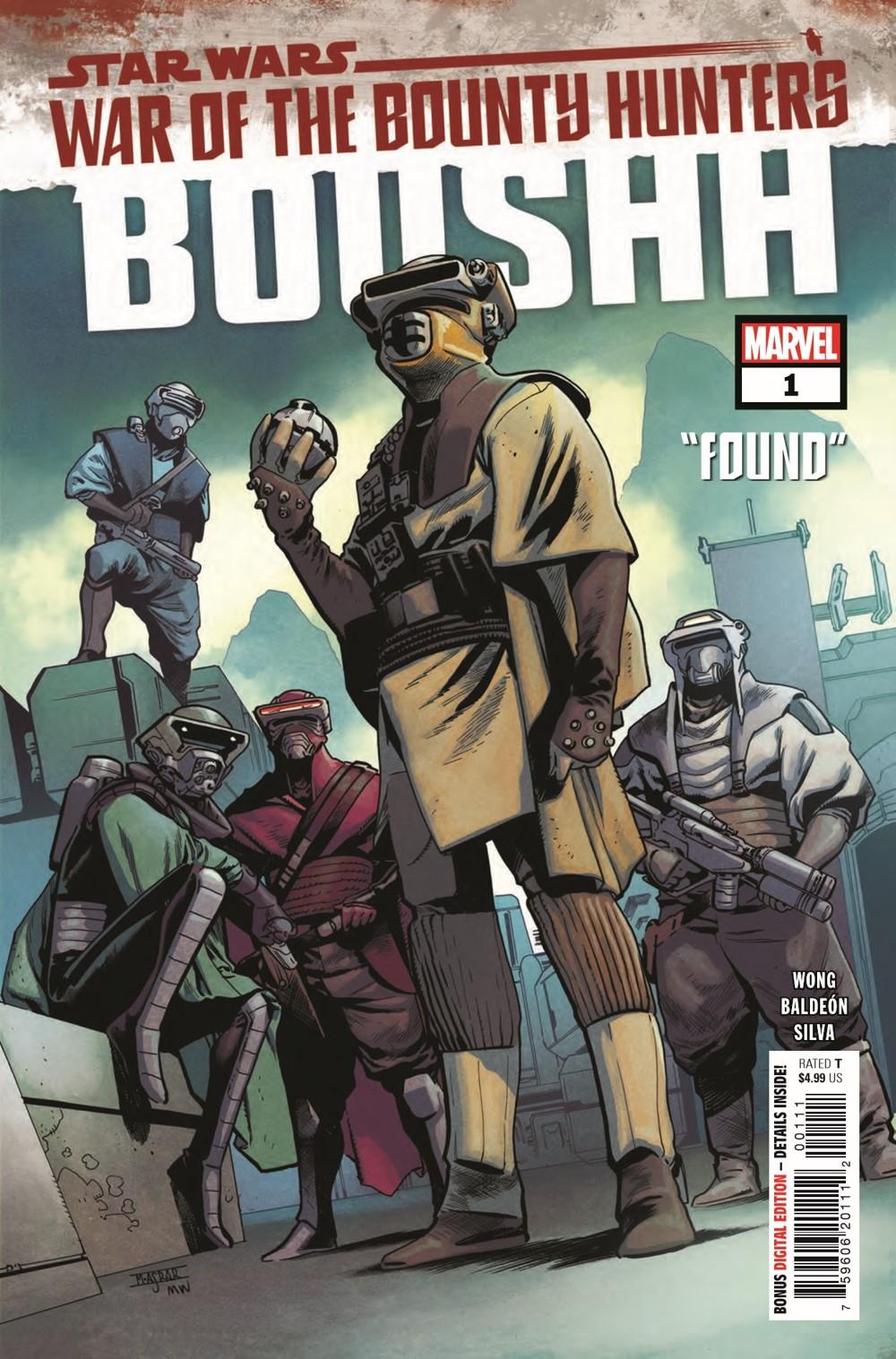 STWWAROTBHBOUSHH2021001_Preview-1 ComicList Previews: STAR WARS WAR OF THE BOUNTY HUNTERS BOUSHH #1