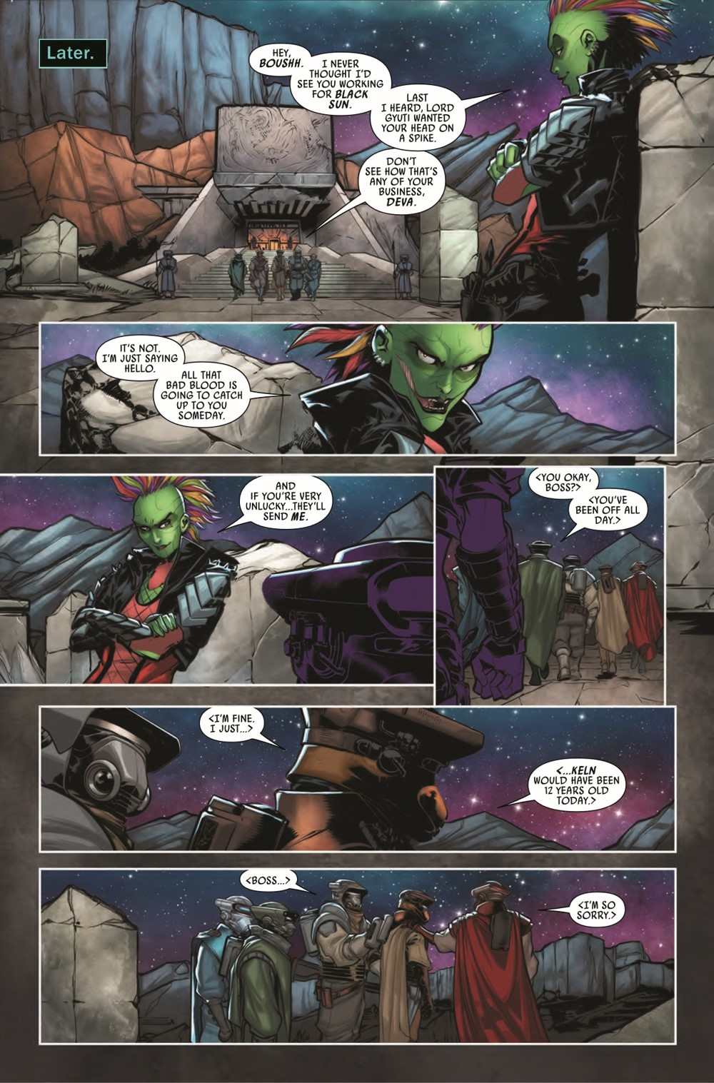 STWWAROTBHBOUSHH2021001_Preview-5 ComicList Previews: STAR WARS WAR OF THE BOUNTY HUNTERS BOUSHH #1