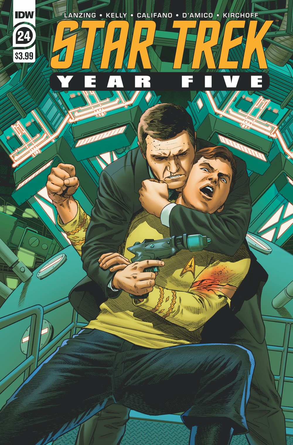 ST_YearFive24-cover ComicList Previews: STAR TREK YEAR FIVE #24