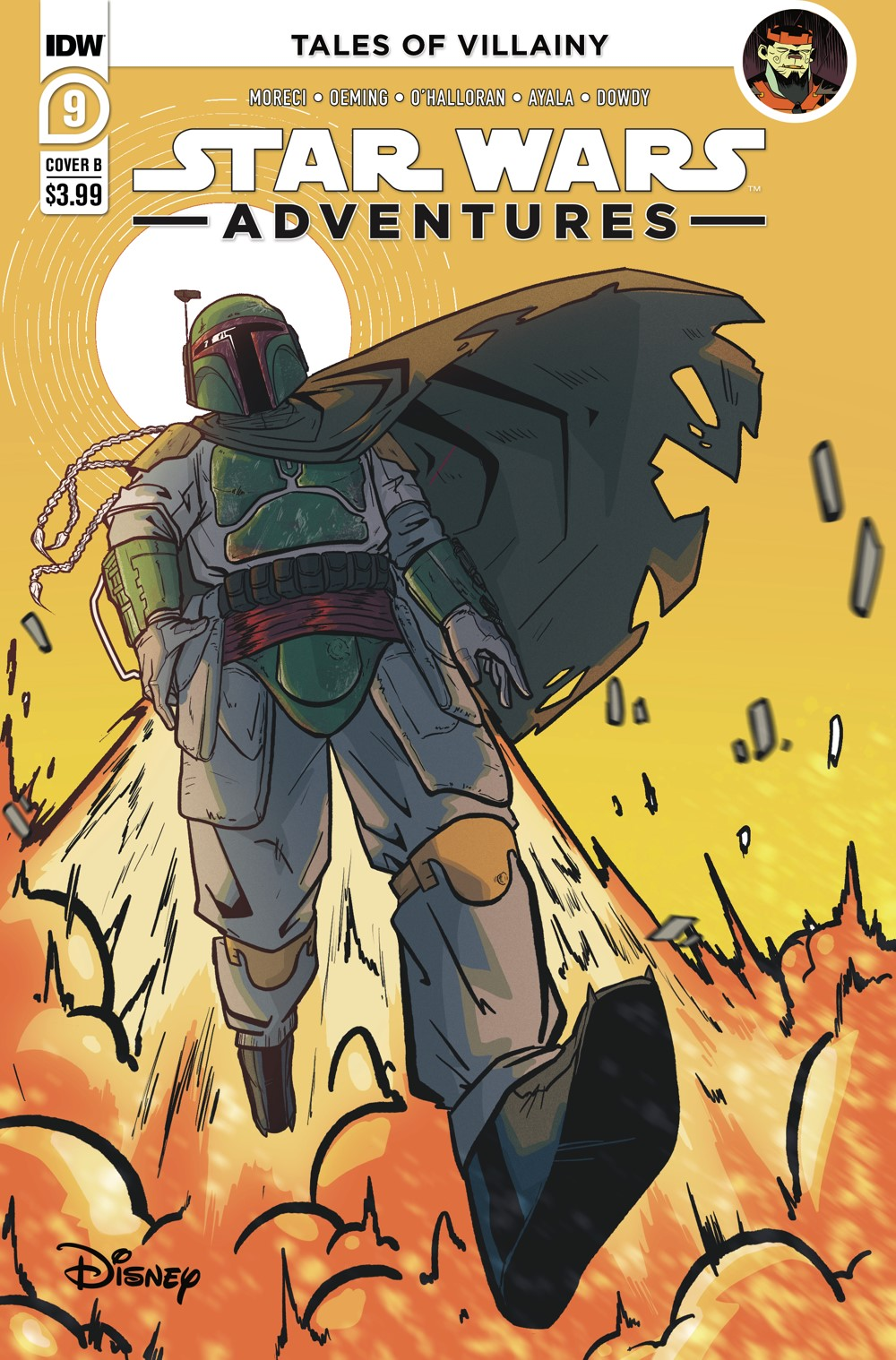 SWA-09-Cover-B ComicList: IDW Publishing New Releases for 09/08/2021