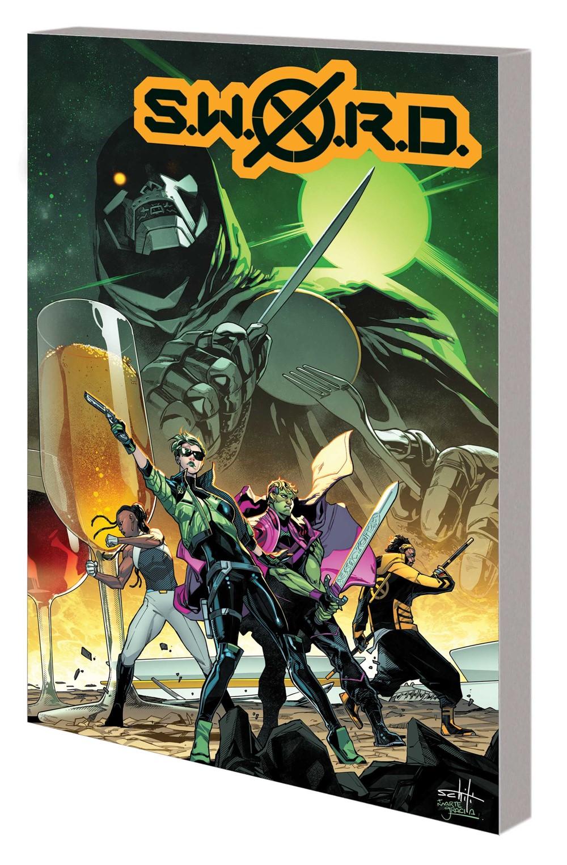 SWORD_VOL_2_TPB Marvel Comics December 2021 Solicitations