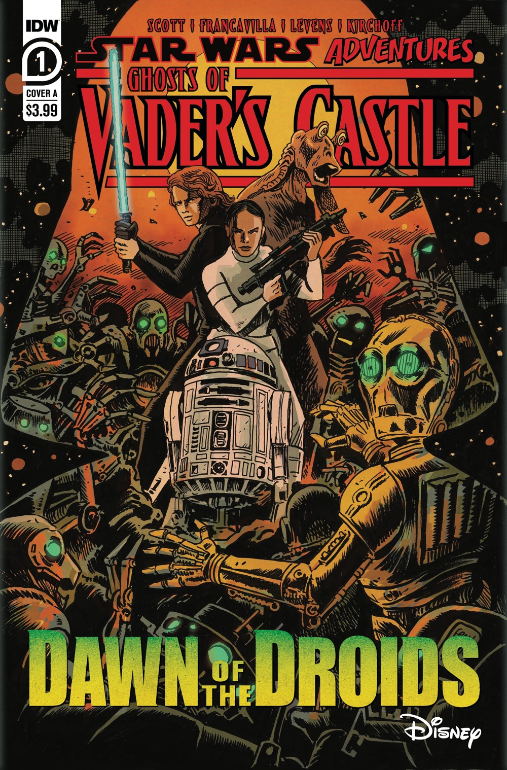 SW_GoVC01-CvrA ComicList Previews: STAR WARS ADVENTURES GHOST OF VADER'S CASTLE #1 (OF 5)