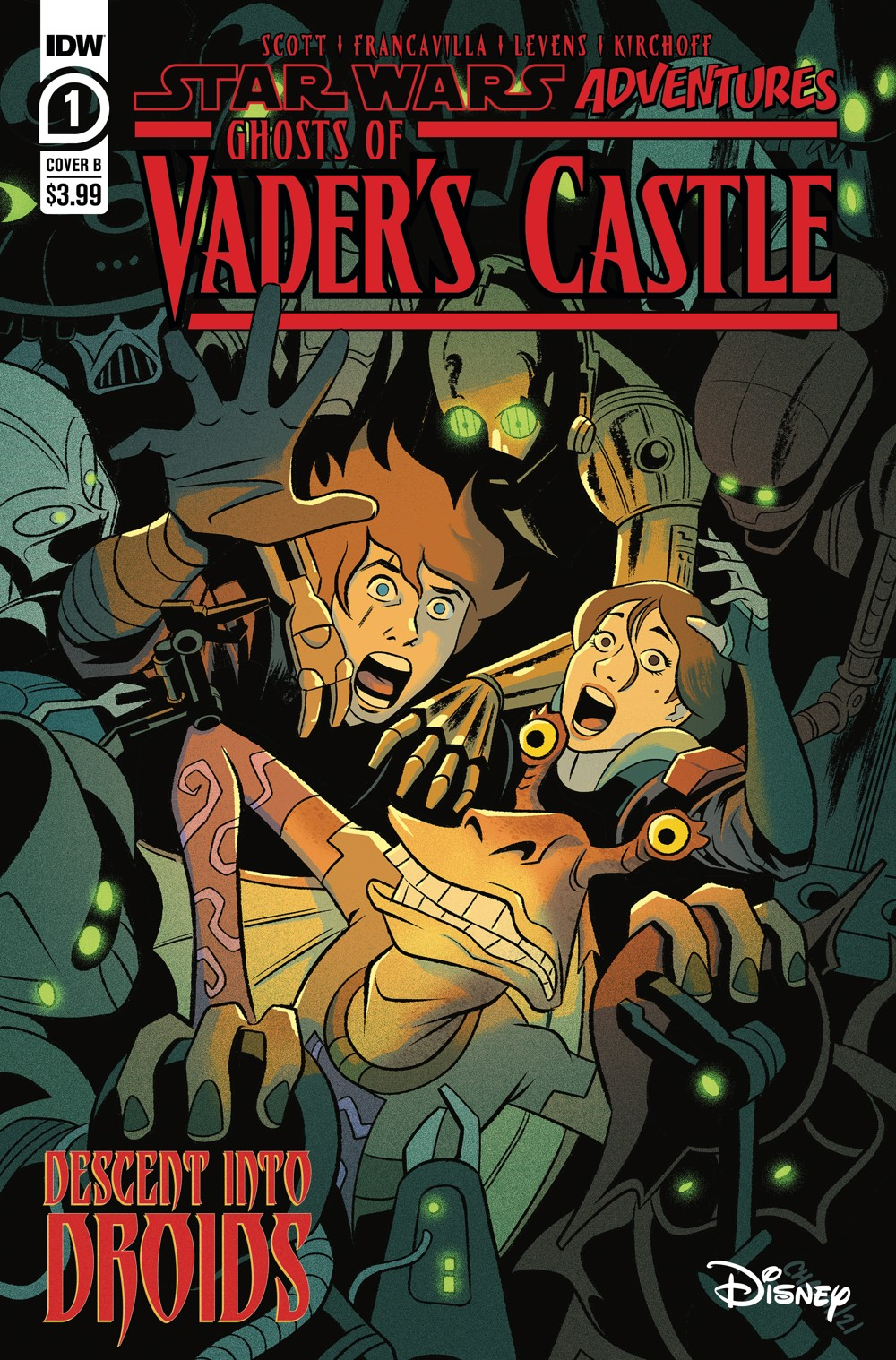 SW_GoVC01-CvrB ComicList Previews: STAR WARS ADVENTURES GHOST OF VADER'S CASTLE #1 (OF 5)