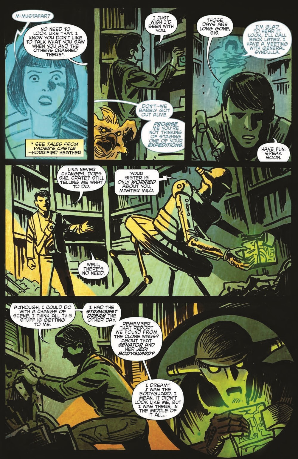 SW_GoVC01_pr-6 ComicList Previews: STAR WARS ADVENTURES GHOST OF VADER'S CASTLE #1 (OF 5)