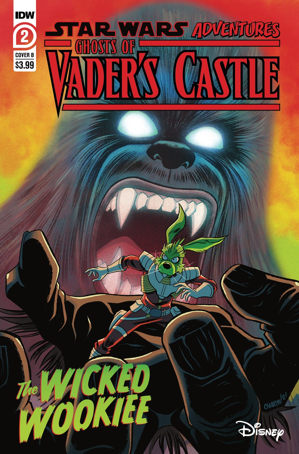 SW_GoVC02-CvrB ComicList Previews: STAR WARS ADVENTURES GHOST OF VADER'S CASTLE #2 (OF 5)