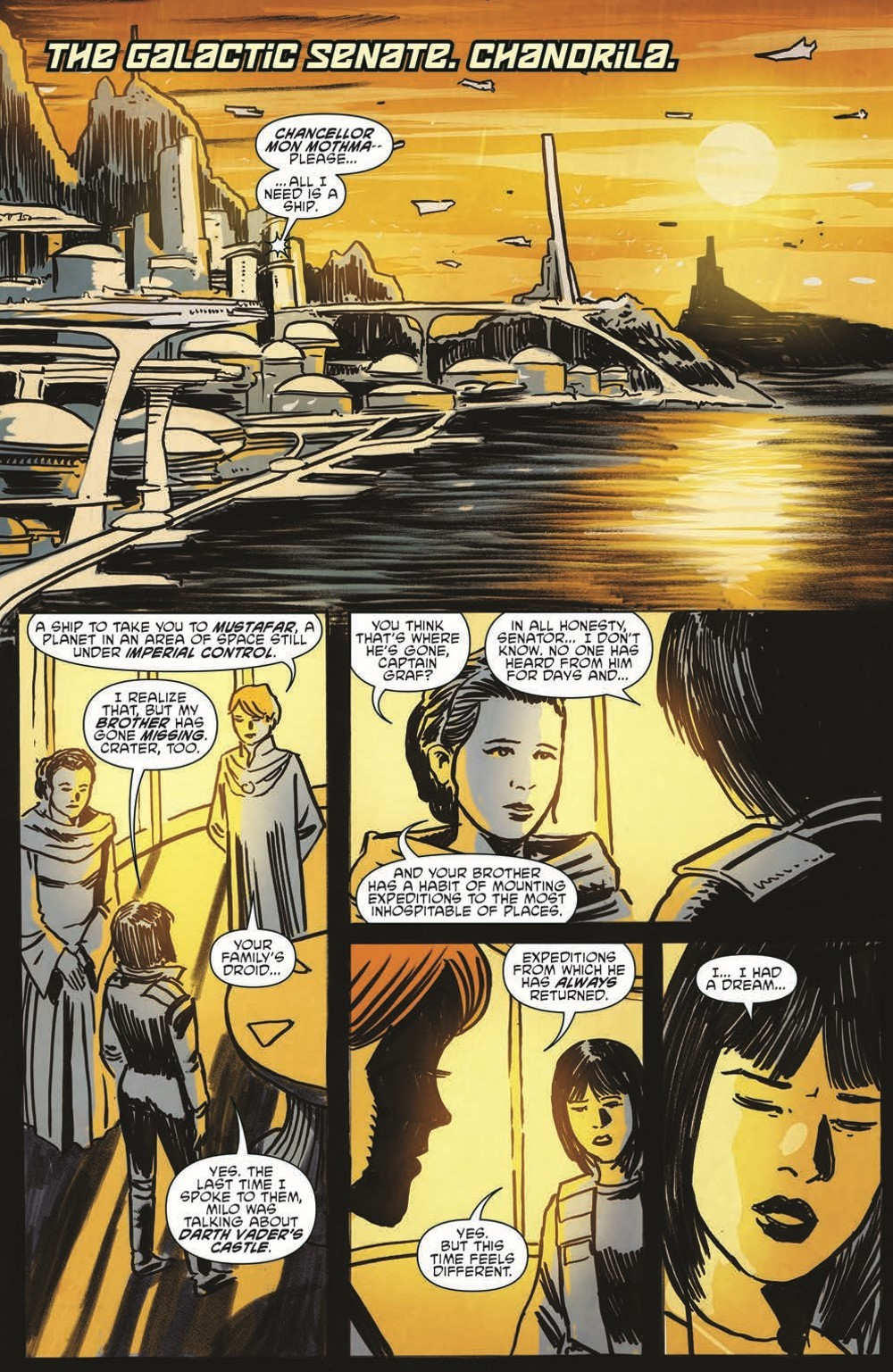 SW_GoVC02_pr-3 ComicList Previews: STAR WARS ADVENTURES GHOST OF VADER'S CASTLE #2 (OF 5)