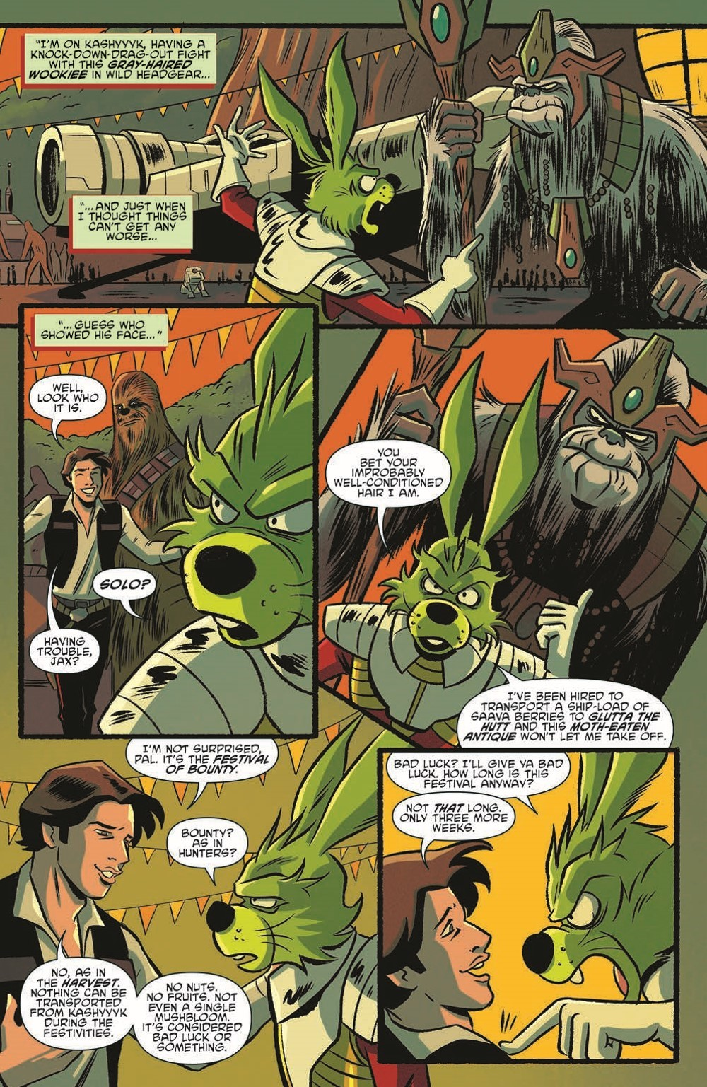 SW_GoVC02_pr-7 ComicList Previews: STAR WARS ADVENTURES GHOST OF VADER'S CASTLE #2 (OF 5)
