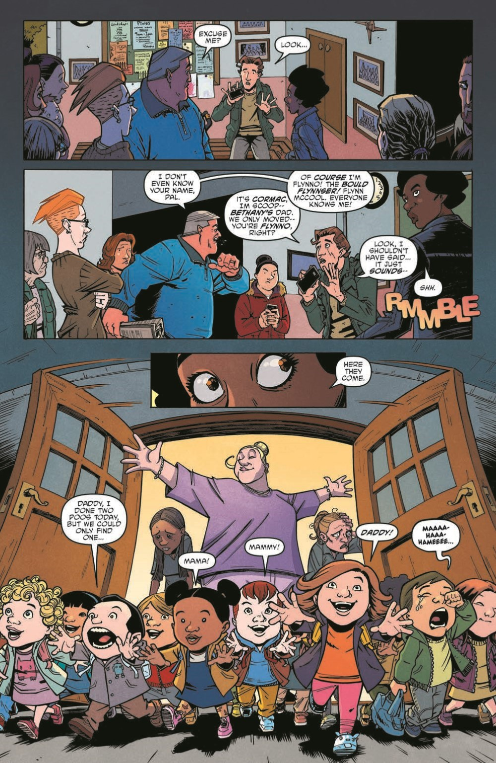 Scarenthood_pr-5 ComicList Previews: SCARENTHOOD TP