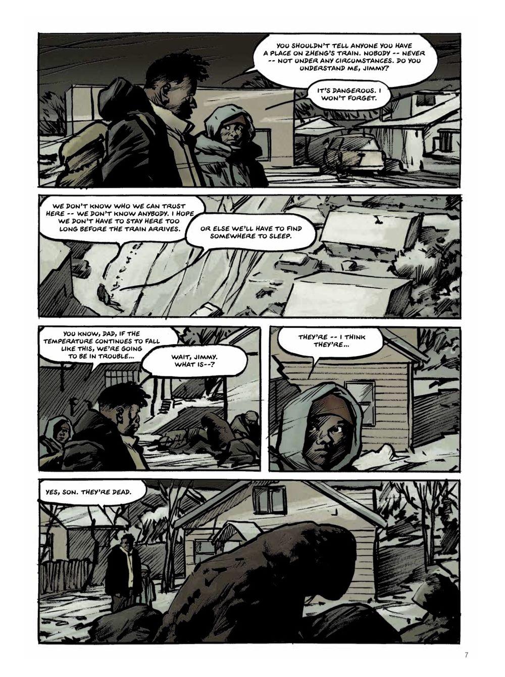 Snowpiercer-Prequel-Vol.-2-Page-2 ComicList Previews: SNOWPIERCER THE PREQUEL VOLUME 2 APOCALYPSE GN