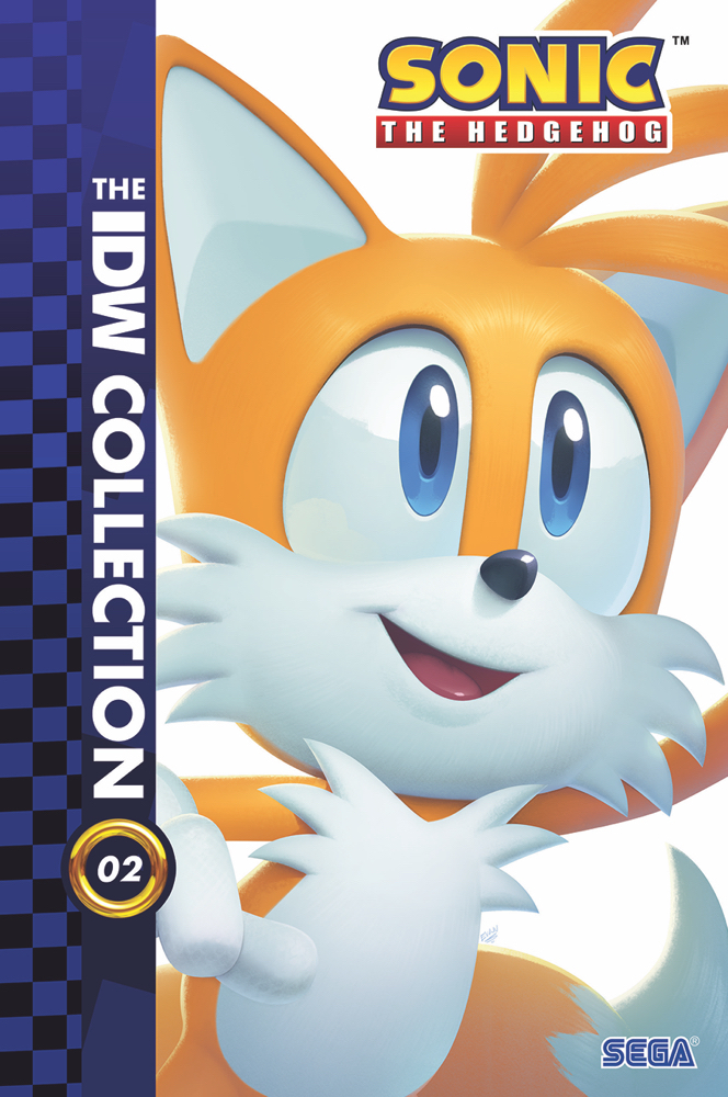 Sonic-IDWCollection02-HC-Mock IDW Publishing December 2021 Solicitations