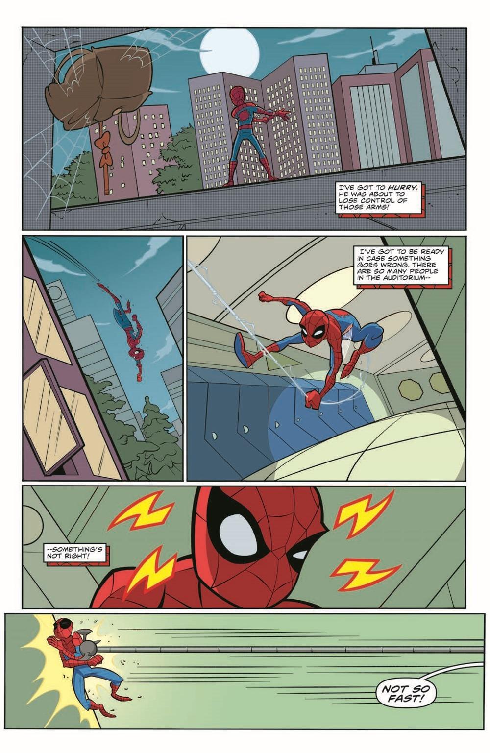 SpidermanV3-05_pr-6 ComicList Previews: MARVEL ACTION SPIDER-MAN VOLUME 3 #5