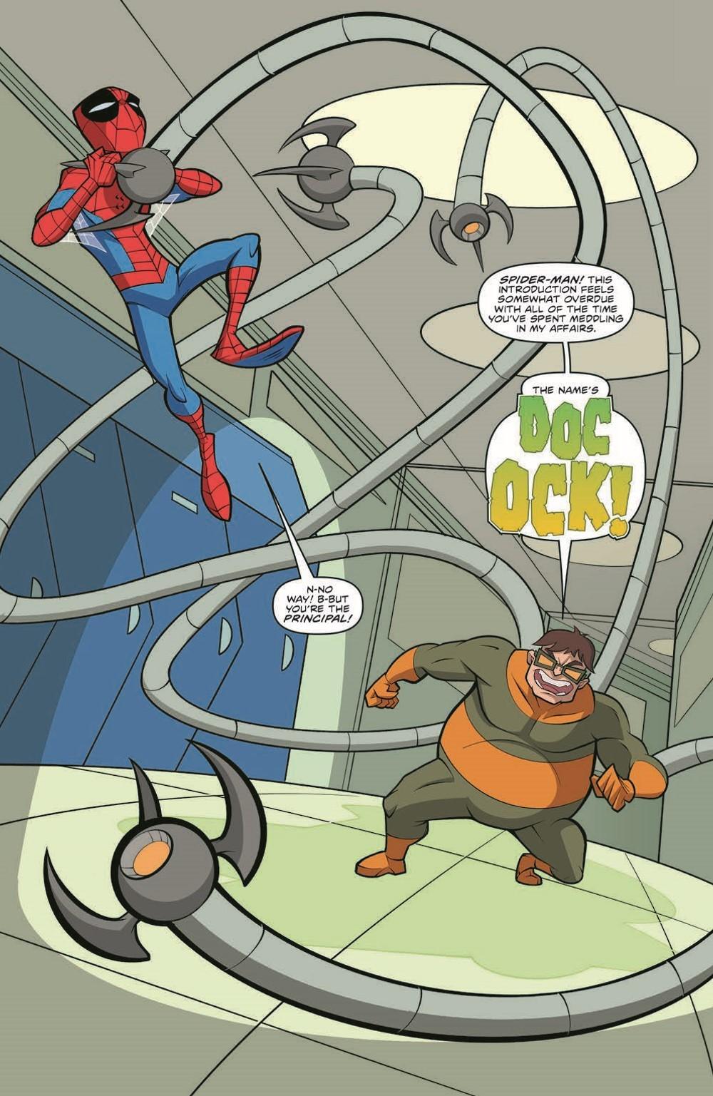 SpidermanV3-05_pr-7 ComicList Previews: MARVEL ACTION SPIDER-MAN VOLUME 3 #5