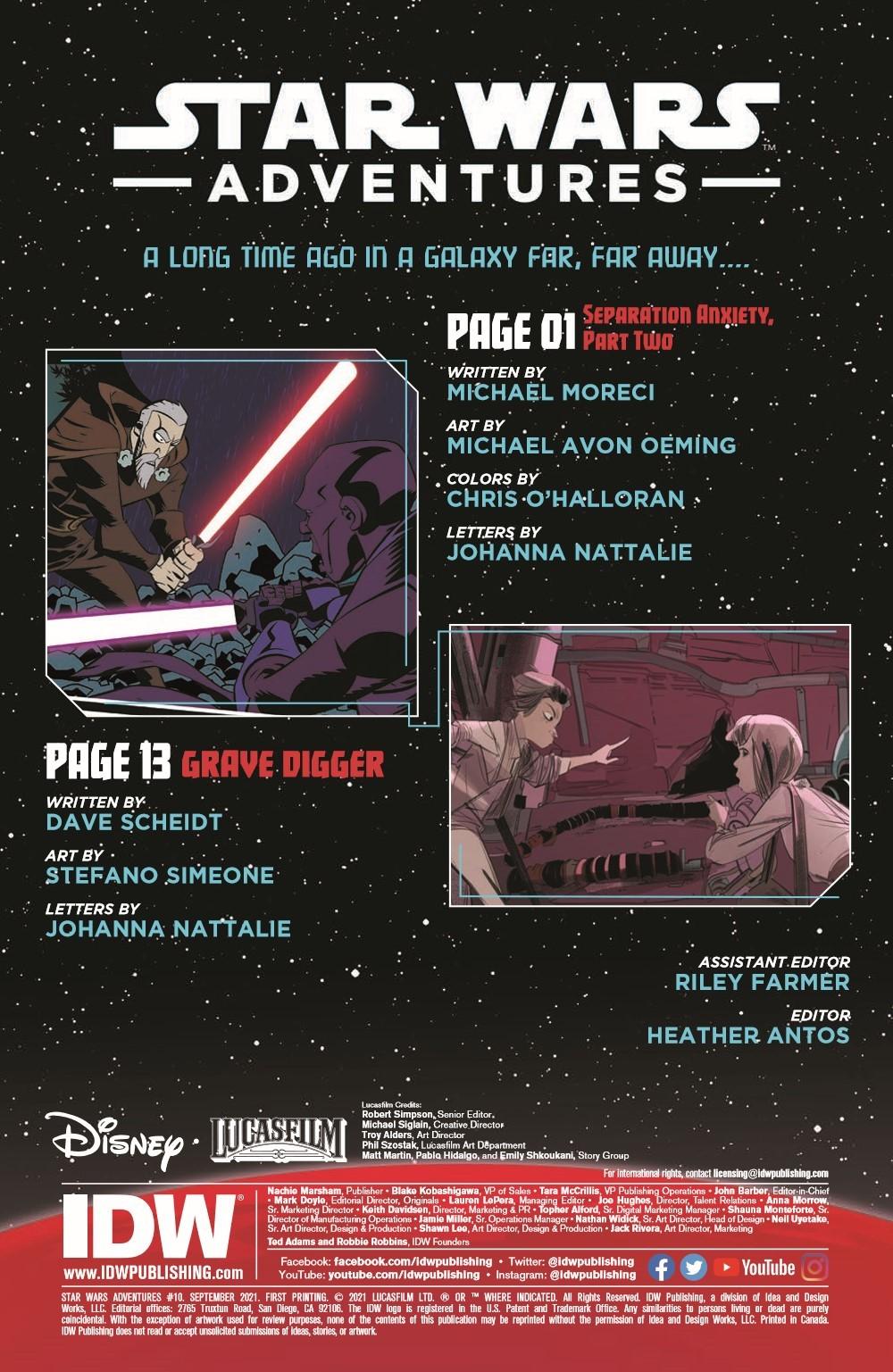 StarWarsAdv10-pr-2 ComicList Previews: STAR WARS ADVENTURES VOLUME 2 #10