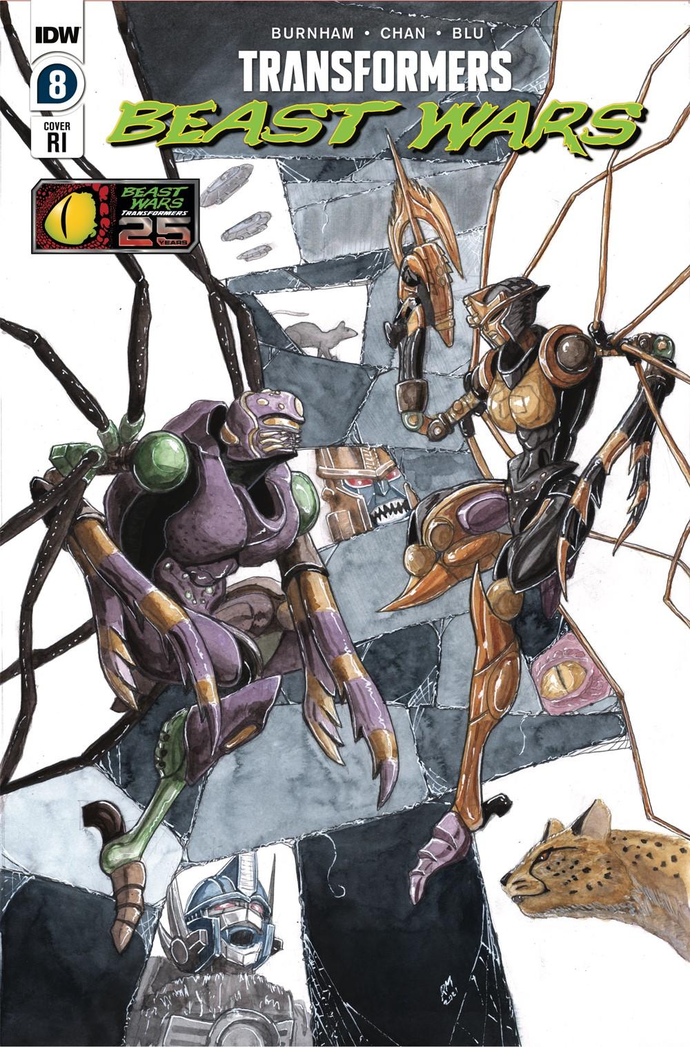 TFBW08-CvrRI ComicList Previews: TRANSFORMERS BEAST WARS #8