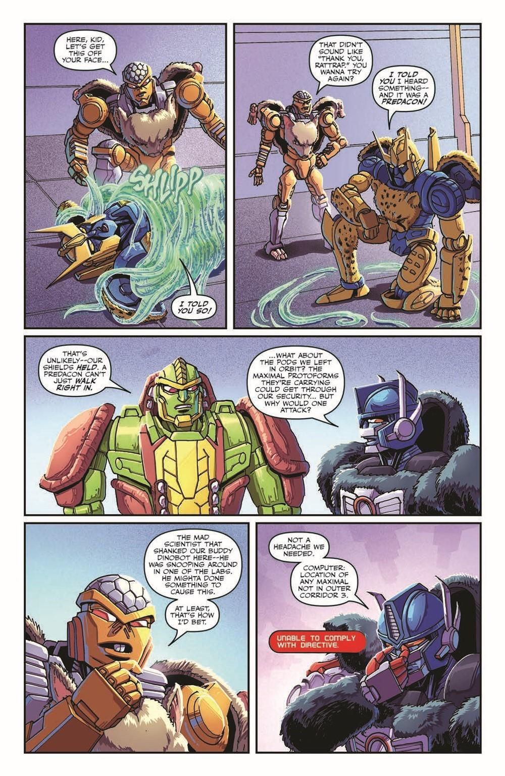 TFBW_08_pr-5 ComicList Previews: TRANSFORMERS BEAST WARS #8