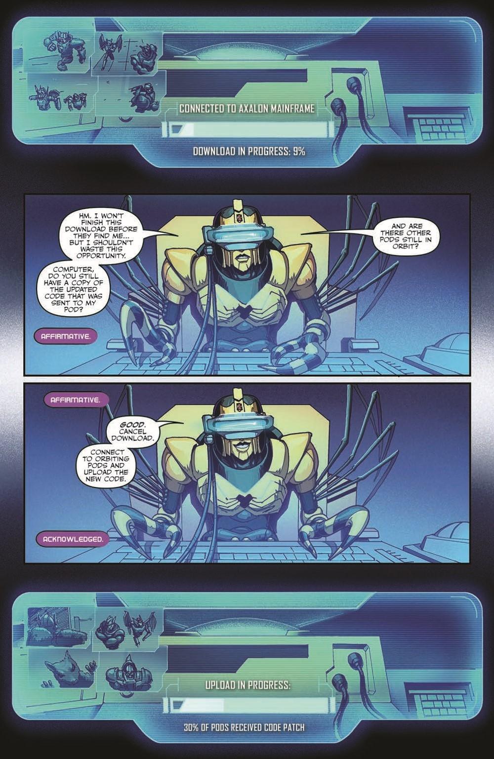 TFBW_08_pr-7 ComicList Previews: TRANSFORMERS BEAST WARS #8