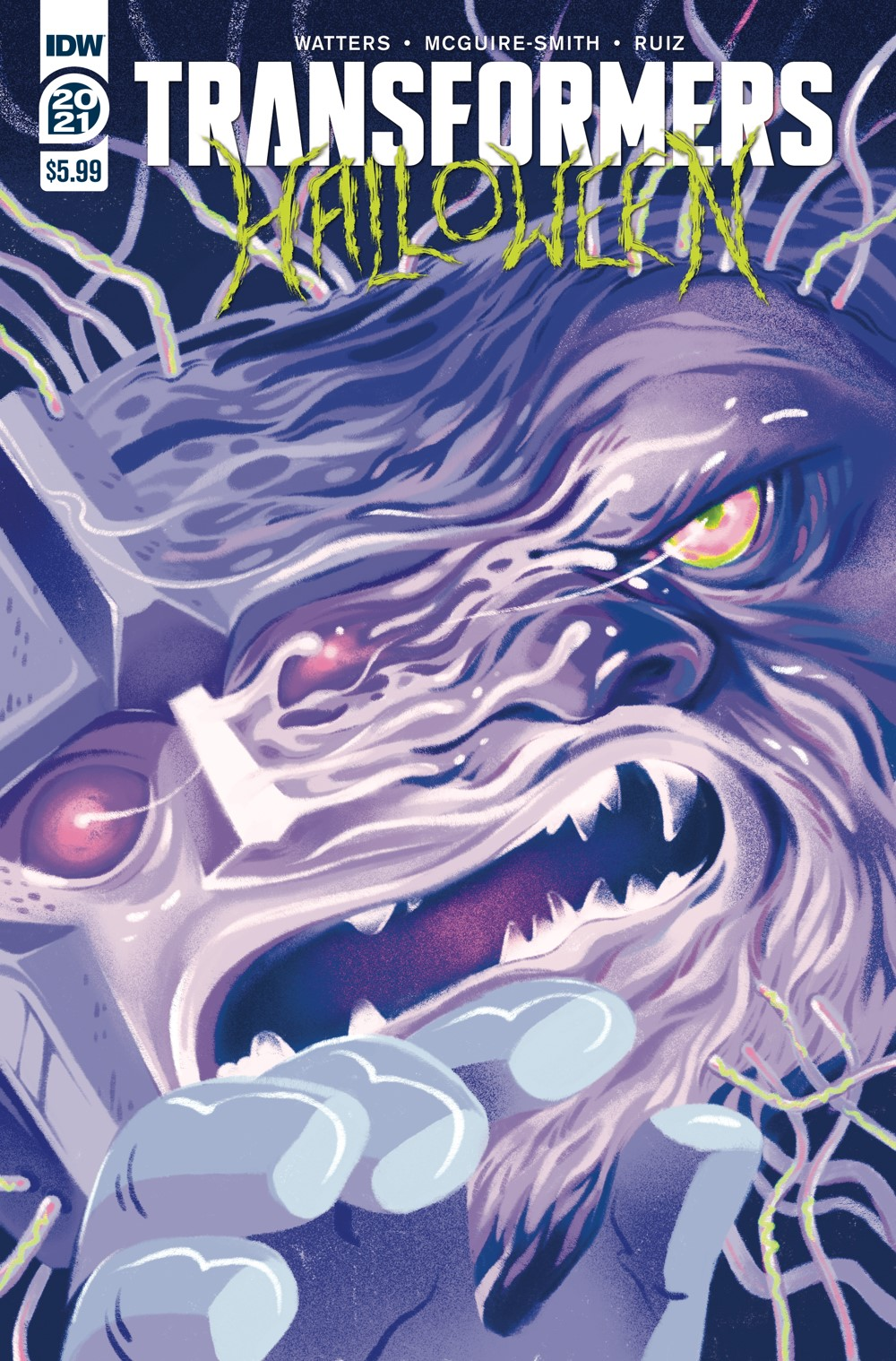 TFHalloween-cvr-A ComicList: IDW Publishing New Releases for 09/29/2021