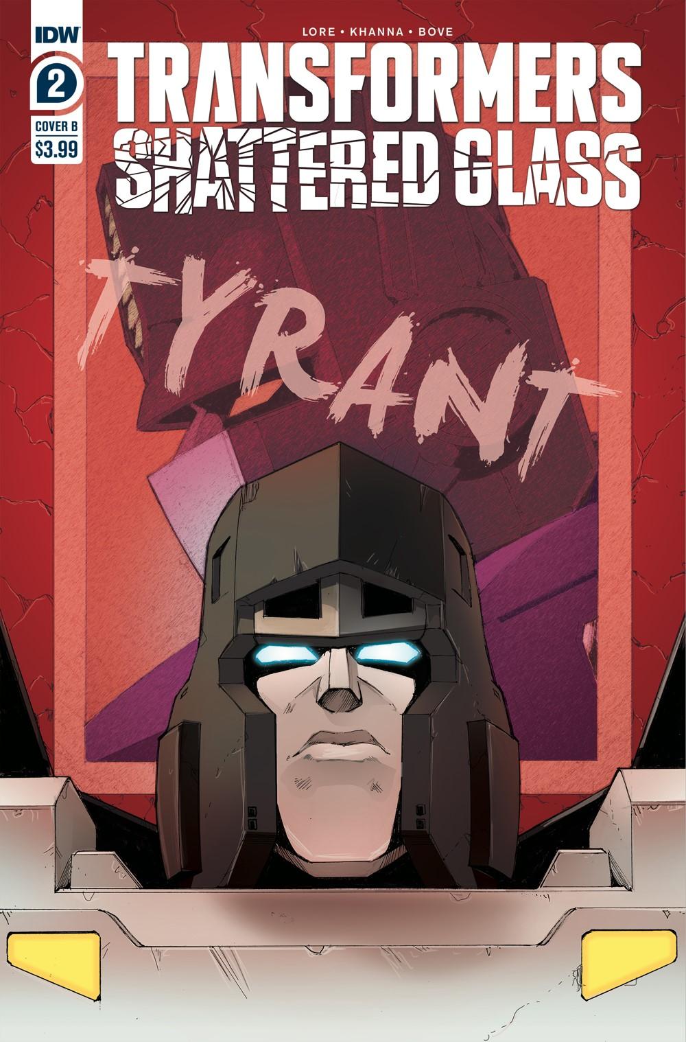 TF_ShatGlass02-cvrB ComicList: IDW Publishing New Releases for 09/29/2021