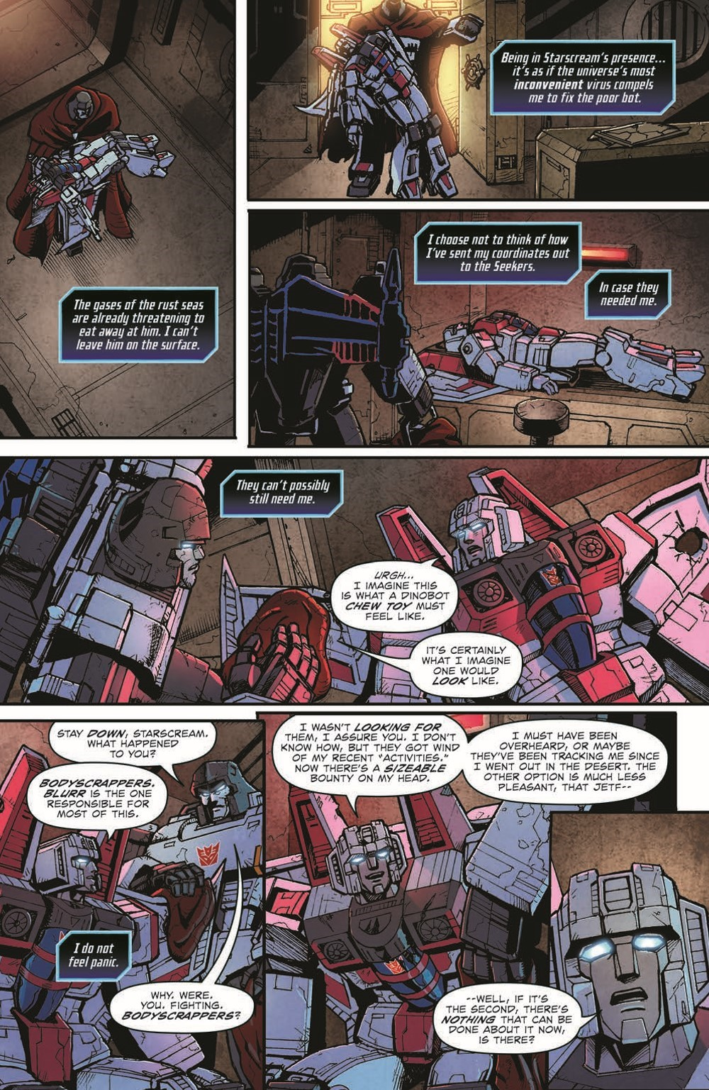 TF_ShatGlass02-pr-5 ComicList Previews: TRANSFORMERS SHATTERED GLASS #2 (OF 5)