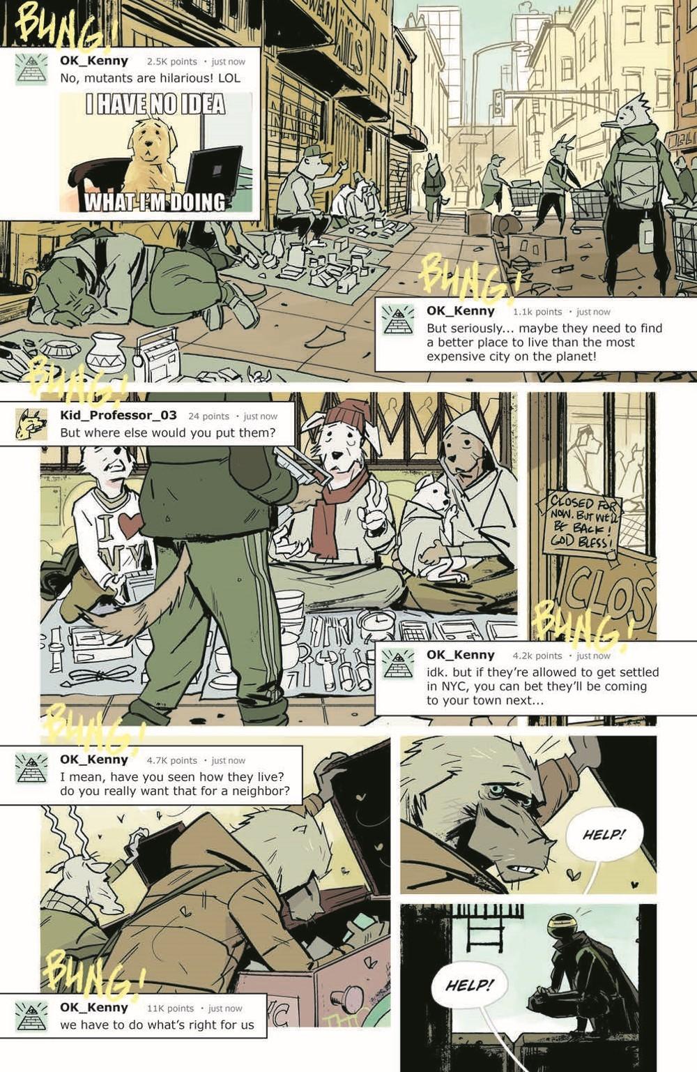 TMNT-Jennika02_pr-5 ComicList Previews: TEENAGE MUTANT NINJA TURTLES JENNIKA II TP