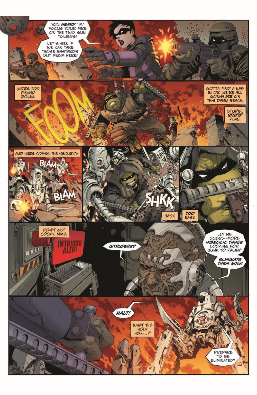 TMNT-LastRonin04_pr-6 ComicList Previews: TEENAGE MUTANT NINJA TURTLES THE LAST RONIN #4 (OF 5)