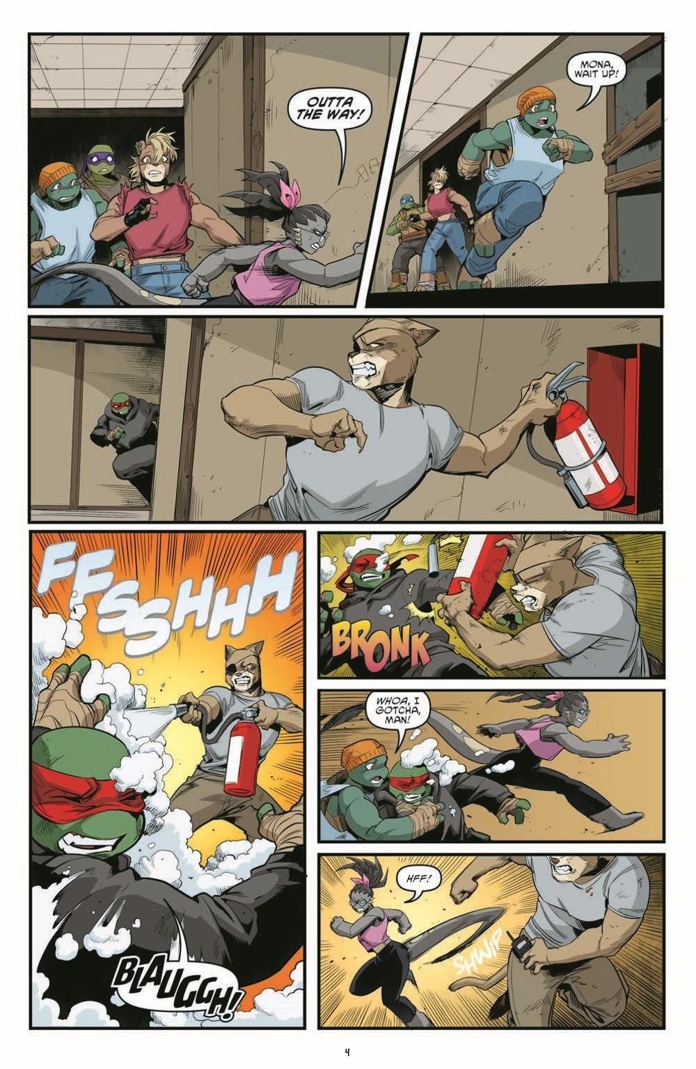 TMNT121_pr-6 ComicList Previews: TEENAGE MUTANT NINJA TURTLES #121