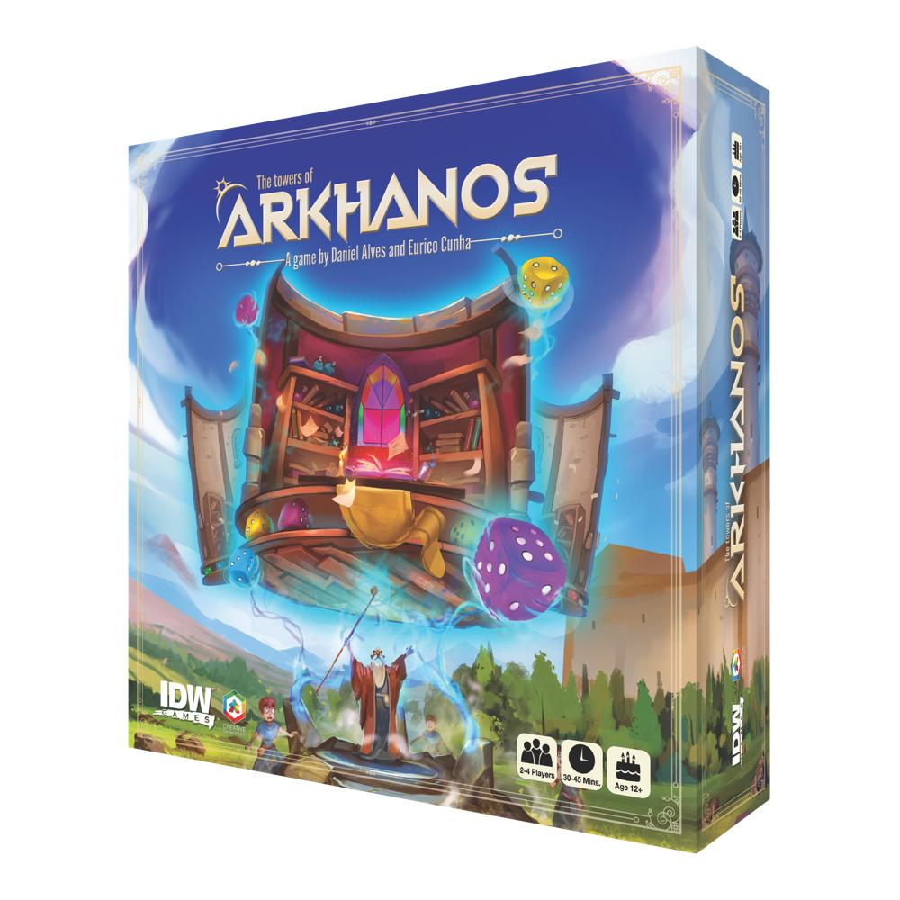 TowersOfArkhanos_Box_Mock_Reversed IDW Publishing December 2021 Solicitations